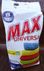 Эффективное средство для стирки белья Max Universal (5 кг). Не дорого.